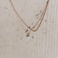 Fairy Tales Layered Necklace - Gold