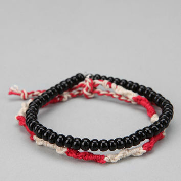 Urban Outfitters - Wood & Rope Bracelet - Pack of 2