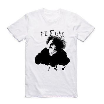 The Cure BOYS DO NOT CRY T-shirt O-Neck Short Sleeves Summer Rock Roll Punk Top Music Tee Hipster T Shirt
