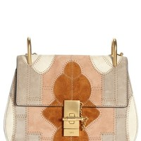 Chloé 'Small Drew' Suede Patchwork Shoulder Bag | Nordstrom