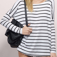 Cupshe Another Day Stripe Casual Shirt