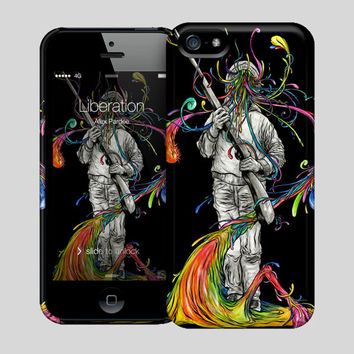 Liberation Hard Case For iPhone 5 or 5s by Alex Pardee