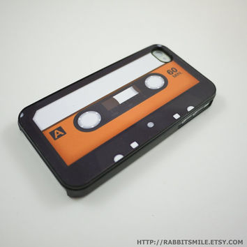 Classic Cassette Tape iPhone 5 Case, iPhone 4 case, iPhone 4s Cover , Hard Plastic iphone 5 Cover, cases