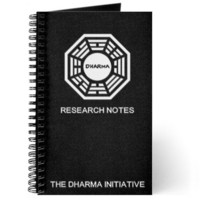 Dharma Initiative Research Notes Journal on CafePress.com