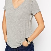 ASOS New Forever T-Shirt With V Neck 2 Pack SAVE 17%