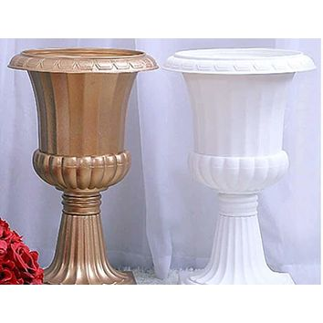 4 pcs Floral Antique Beautiful Floor Flower Vase