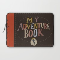 my adventure book.. up, carl and ellie Laptop Sleeve by Studiomarshallarts