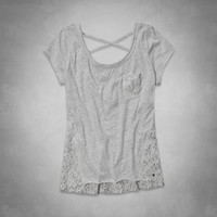Taylor Lace Back Top