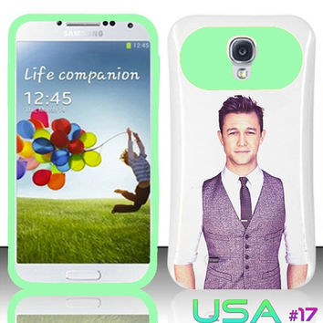 USA Design #17 - Samsung Galaxy S4 Glow in Dark Case # joseph gordon-levitt @ Cover for Galaxy S4 i9500 Case