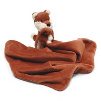 Toddler Jellycat 'Bashful Fox' Stuffed Animal & Blanket