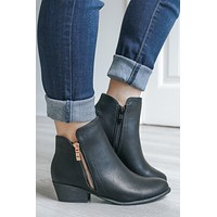 High Demand Booties - Black