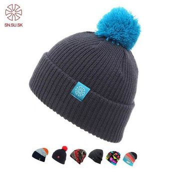 ac NOOW2 2017 Touca Winter Hat Knitted Beanies Hats For Men Women Caps Skullies Gorros Casual Outdoor Sport Bonnet Ski Mask Beanie Cap