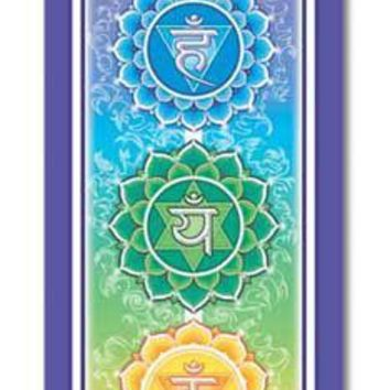 Large Cloth Chakra Yoga Zen Wall Hanging Banner