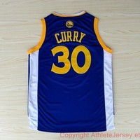 Stephen Curry 30 Golden State Warriors NBA Basketball Jersey Stephen Curry Golden State