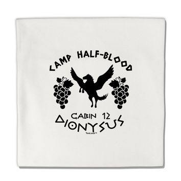 "Camp Half Blood Cabin 12 Dionysus Micro Fleece 14""x14"" Pillow Sham by TooLoud"