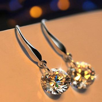 Korean Accessory Silver Stylish Earrings [302110703657]