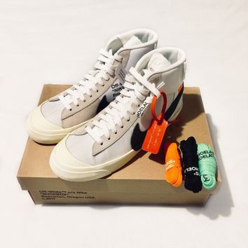 NIKE x OFF WHITE Blazer Mid - UK 10 / EU45 - Deadstock