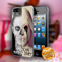 American Horror Story Asylum Tate Langdon - Print on hard plastic case for iPhone case. Select an option
