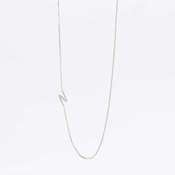 Delicate Initial Necklace - Urban Outfitters