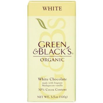 Green & Black's Organic White Chocolate - 3.5 oz