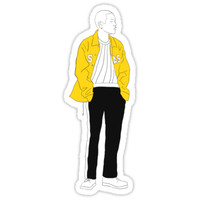 'OH HYUK #1' Sticker by mcholler