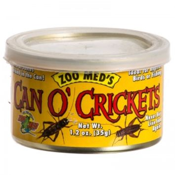 Zoo Med Zoo Med Can O' Crickets Cricket & Insects Food