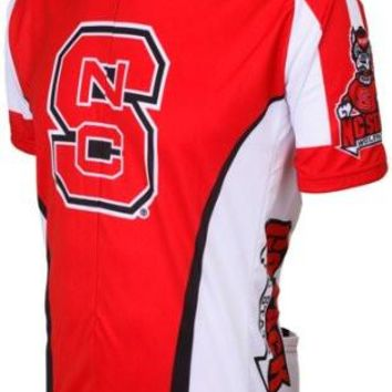 NCAA Men's Adrenaline Promotions North Carolina State Wolfpack Road Cycling Jersey