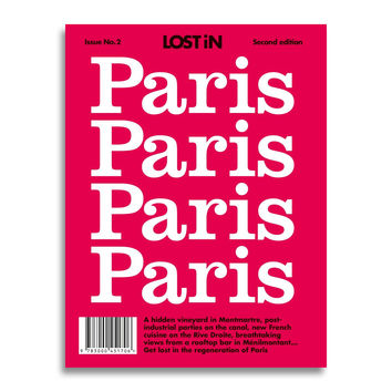 Lost In City Guide Paris