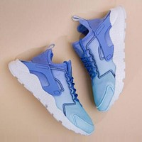 Nike Huarache Fashion Women Men Leisure Running Sport Shoes Sneakers Blue I