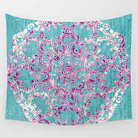 Reinventing A Taste of Lilac Wine Wall Tapestry by Octavia Soldani | Society6