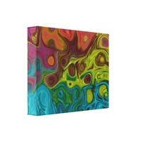 Abstract 4444 777 gallery wrap canvas from Zazzle.com