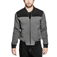 Neoprene Bomber Jacket at Guess