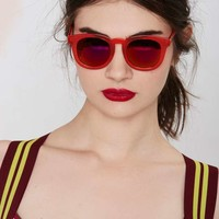 Quay Breakfast Club Shades - Red