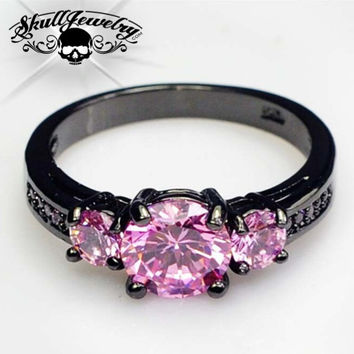 'Angelo Rosa' Pink Sapphire Ring (w022)