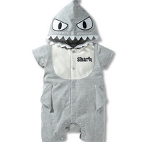Jaws Baby Toddler Halloween Romper