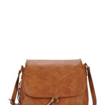 Ana Tan Foldover Crossbody