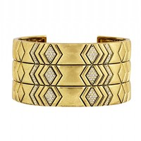 House of Harlow 1960 Jewelry Echo Crest Cuff