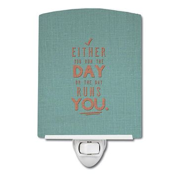 Run the Day Ceramic Night Light BB5453CNL