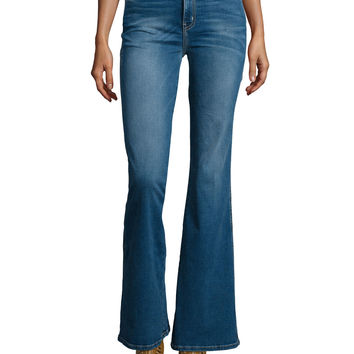 The Girl Crush Flared Jeans, Dustbowl, Size: