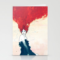 Florence + The Machine - The Ghost Stationery Cards by Ricardo Bessa