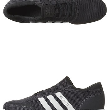 ADIDAS ORIGINALS WOMENS LOS ANGELES SHOE - BLACK WHITE