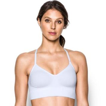DCCKX8J Under Armour Bras: Seamless Solid Low-Impact Sports Bra 1275923 | null