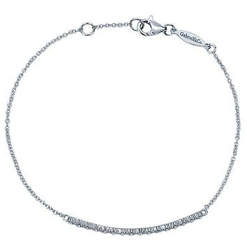 "Gabriel Diamond ""Bar"" Bracelet"