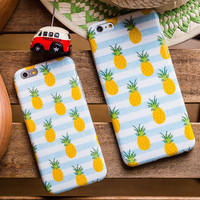Cute Pineapple iPhone 7 7 plus iPhone 5s 5se 6 6s Plus Case Cover+Nice Gift Box !