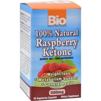Bio Nutrition Raspberry Keytones - 500 mg - 60 Ct