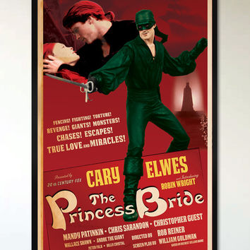 The Princess Bride - 1930's - Retro Alternative Movie Poster