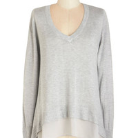 ModCloth Mid-length Brume and Board Sweater