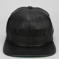 Undefeated Play Dirty Vegan Leather Snapback Hat