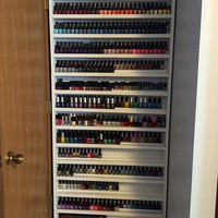 660 ct Nail Polish Wall Organizer