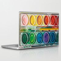 The Painter Laptop & iPad Skin by Laura Ruth